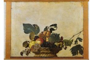 Canestra di frutta fine 1500 Olio su tela 48 x 62cm Milano, Veneranda Biblioteca Ambrosiana, Pinacoteca © 2009. Foto Scala, Firenze