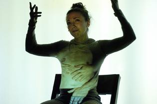 Nuria Garcia as LUPE in LIPSYNCH<br /> photo copyright: Érick Labbé
