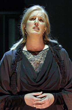 Rebecca Blankenship as ADA in LIPSYNCH<br /> copyright Érick Labbé