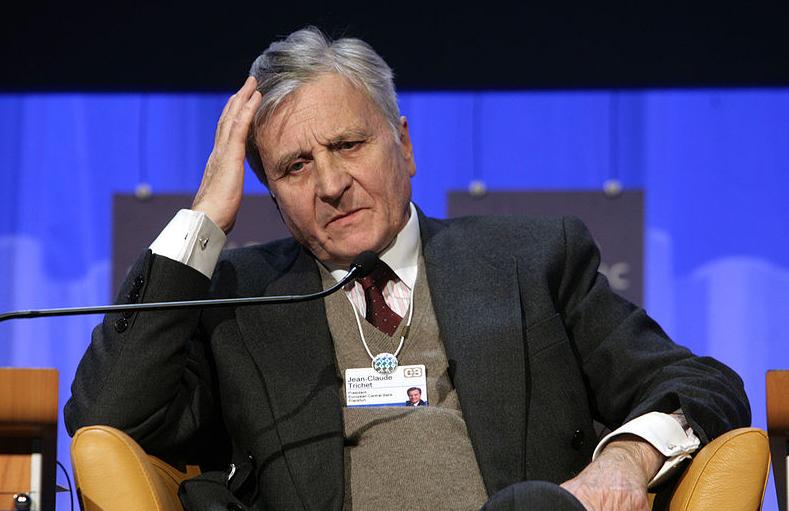 Jean Claude Trichet  -  photo by Monika Flueckiger