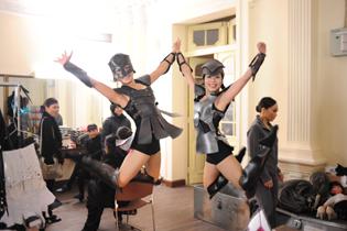 Lead dancer Parzival Thanh. Photo B. Blankenship