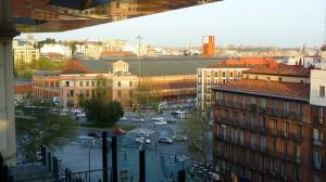 Main Train Station of Madrid