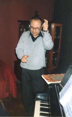 Faradzh Karaev in Baku 1999