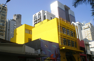 """Rua Augusta"" in Sao Paulo  - photo by hanneorla"