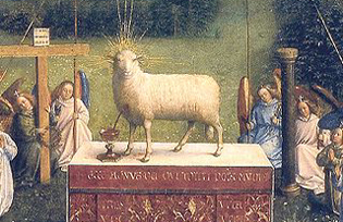 Ghent Altarpiece Lamb