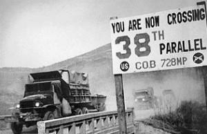 Korea's 38th parallel