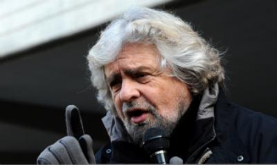 Italian political activist, Beppe Grillo