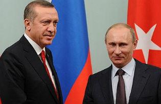 Tayyip Erdogan and Vladimir Putin
