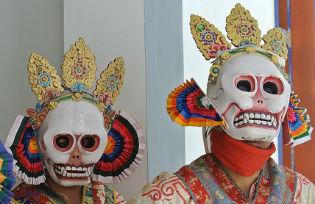 Bhutanese masks