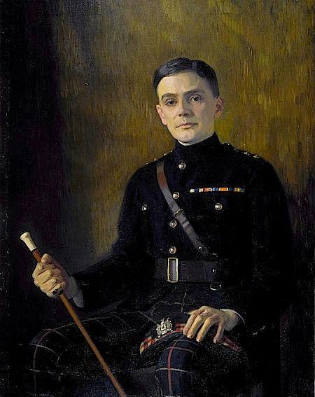 Portrait of Charles Kenneth Scott-Moncrieff by Edward Stanley Mercer (1889–1932), date unknown