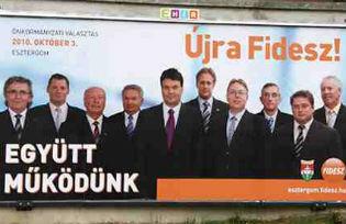 Fidesz electoral poster