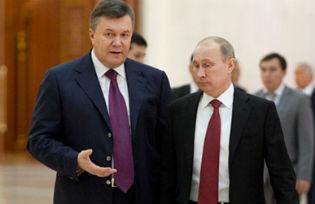 President Viktor Yanukovych and President Vladimir Putin