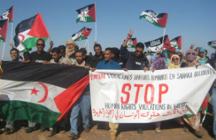 Western Sahara Human Rights activists