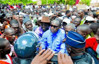 Burkina Faso opposition leader Zéphirin Dabré