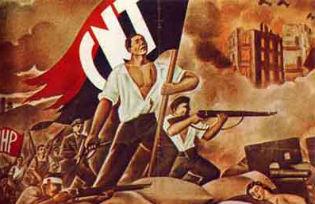 CNT (Confederation Nacional de Trabajodores/National Workers Confederation) poster
