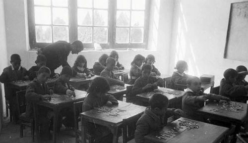 Village school Iran 1950-60.