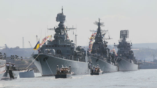 Sevastopol is the principal base for Russia's Black Sea Fleet.