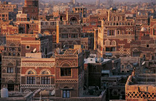 The Yemeni capital Sana'a
