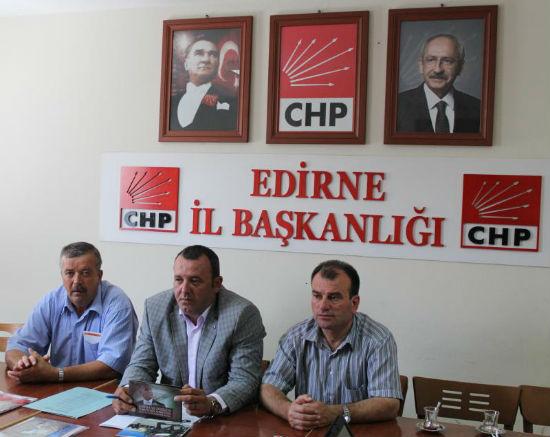 Edirne CHP chairman