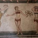 Ancient Roman mosaics in Piazza Armerina