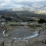 The theatre at Segesta