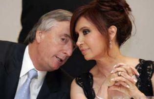 Néstor Kirchner and Cristina Fernández de Kirchner