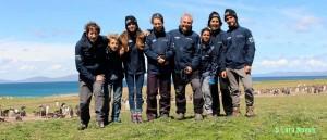 The crew of the Pelagic. Photo © Lara Novak