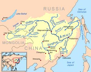 The Amur River - Source: Wikimedia
