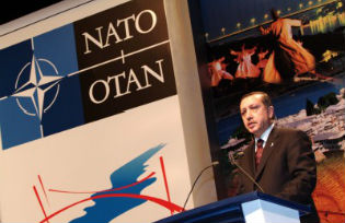 President Erdogan at NATO