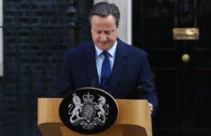 The resignation of David Cameron