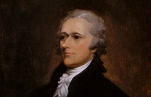 Alexander Hamilton - portrait by John Trumbull - 1806