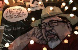 A memorial for slain Mexican journalist Javier Valdez (Photo: Liliana Nieto del Rio)