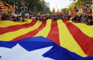 Catalan independence demonstrationCatalan independence demonstrationCatalan independence demonstration