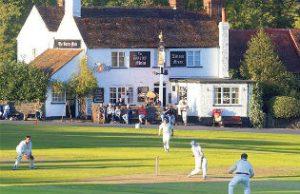 A village cricket match